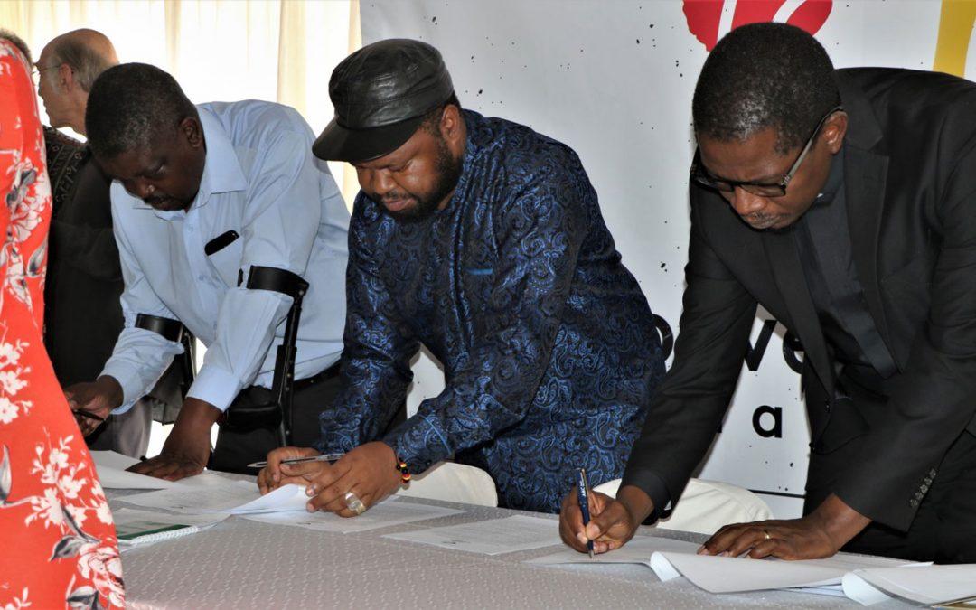 National Convergence Platform Launch in Zimbabwe